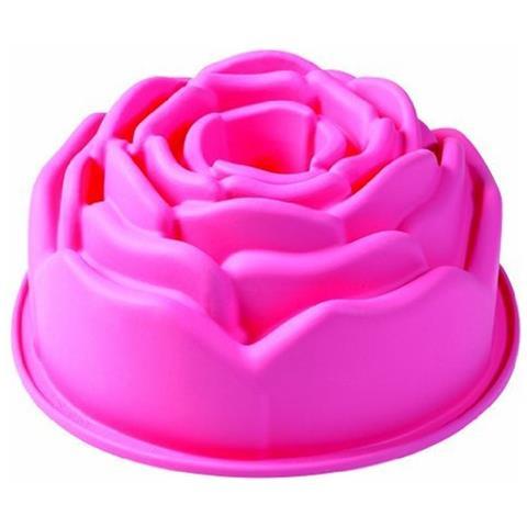Stampo In Silicone A Forma Di Rosa Pavoni