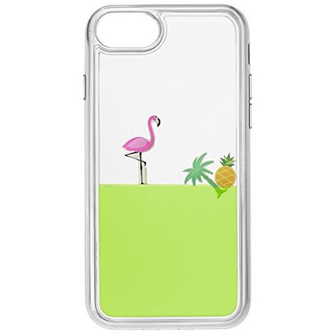 CELLULAR LINE Cover con liquido Verde per iPhone 5