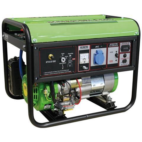 Image of Generatore Eco Gpl Propano Butano Avr Avv. Elettrico 2 Kw 60170