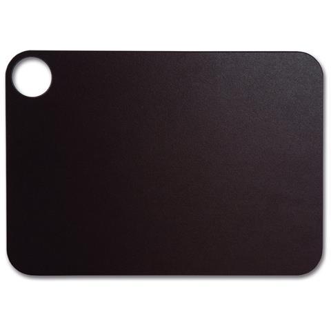 Taglieri - Resina E Fibra Di Cellulosa 33 X 23 Cm E 6,5 Mm Spessore - Colore Marrone
