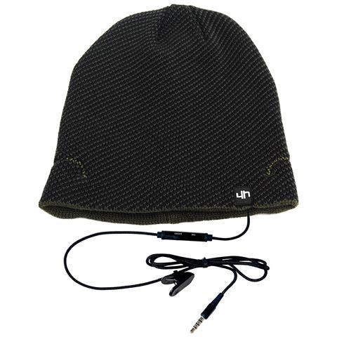 HI-FUN Hi-Head cappellino con speaker e microfono incorporati colore Blue / Verde