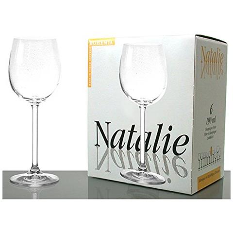 6 Calici Nathalie Acqua 26