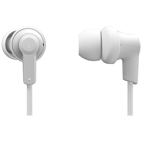 PANASONIC Auricolari Bluetooth con Microfono Design Ergonomico Fit Colore Bianco