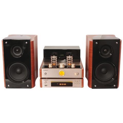 MADISON Sistema Hi-fi Madison 10-7112 Valvolare 2x40w Con Cd E Diffusori