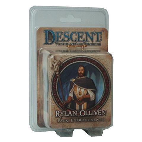 GIOCHI UNITI GU242 Descent Mini - Luogotenente Rylan Olliven