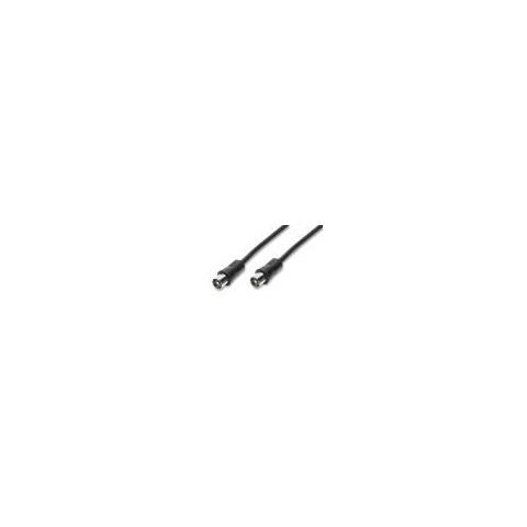 nvs Cavo per antenna TV spina spina IEC 75 OHM - 2 mt