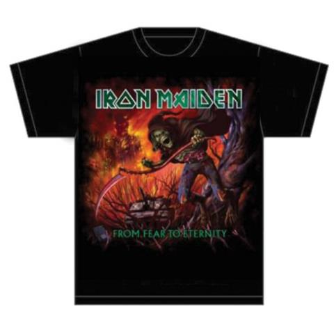 ROCK OFF Iron Maiden - From Fear To Eternity Album (T-Shirt Unisex Tg. XL)