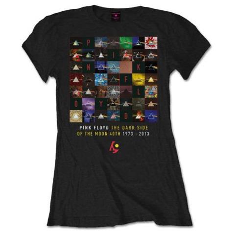 ROCK OFF Pink Floyd - Dsotm 40th Variations (T-Shirt Donna Tg. M)