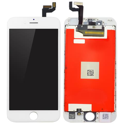 Image of MOBX-IPO6S-LCD-W Display Bianco 1pezzo (i) ricambio per cellulare