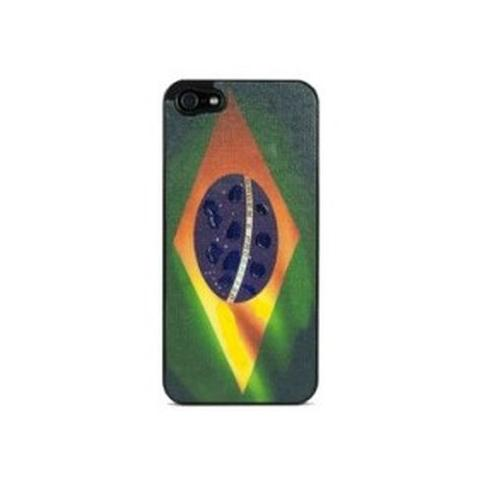 VAVELIERO FLAGS COVER BRASILE iPhone 5/5S / SE
