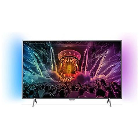 "PHILIPS TV LED Ultra HD 4K 49"" 49PUT6401/12 Smart TV Ambilight UltraSlim"