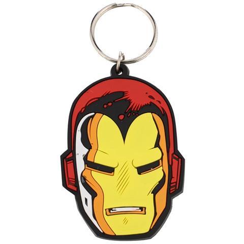 PYRAMID Marvel Comic - Iron Man Face (Portachiavi)