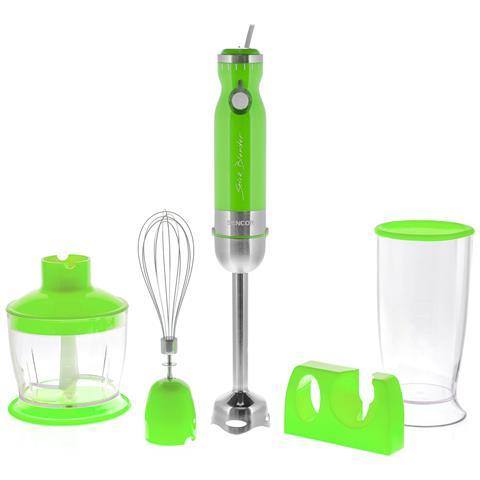 Frullatore ad Immersione con Bicchiere da 800 ml Potenza 800 Wat Colore Verde