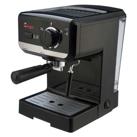 Macchina Caffè Espresso Manuale Lussy Serbatoio 1,1 Litri Potenza 1140 Watt