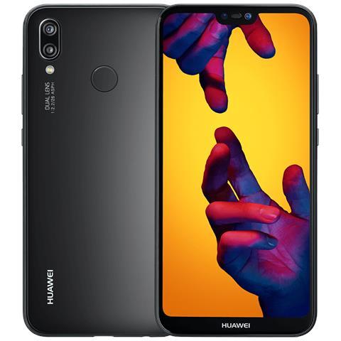 "HUAWEI P20 Lite Nero 64 GB 4G / LTE Dual Sim Display 5.8"" Full HD+ Slot Micro SD Fotocamera 16 Mpx Android Italia"