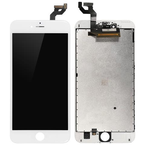 Image of MOBX-IPO6SP-LCD-W Display Bianco 1pezzo (i) ricambio per cellulare