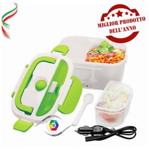 Scaldavivande Scalda Pranzo Elettrico Lunch Box Contenitore Termico Porta Cibo Auto