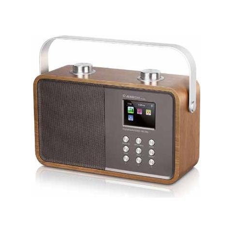 ALBRECHT DR 850, Portatile, TFT, Digitale, DAB+, FM, AC, Batteria