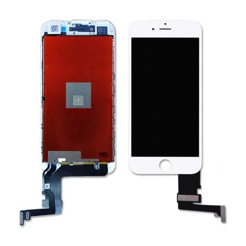 MICROSPAREPARTS MOBILE MOBX-IPO7G-LCD-W Display Bianco 1pezzo (i) ricambio per cellulare