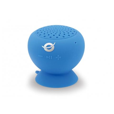 CONCEPTRONIC Altoparlante a Ventosa Impermeabile Bluetooth colore Blu