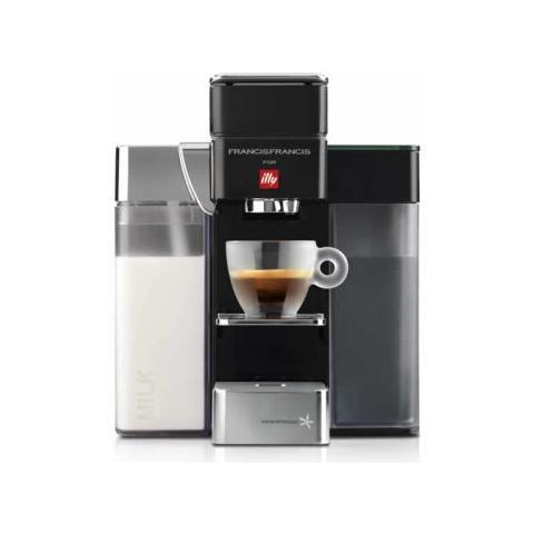 Y5 Macchina per caffè con capsule 0.8L Nero