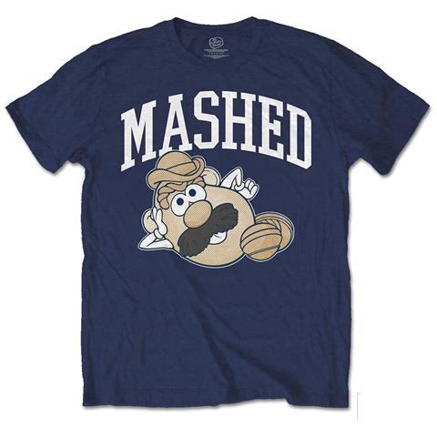 ROCK OFF Hasbro - Mr Potato Head Mashed (T-Shirt Unisex Tg. S)