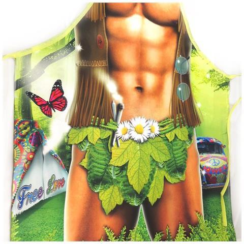 Grembiule Umoristico 'homme Hippy' - [ l1479]