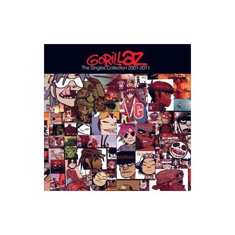 WARNER BROS Cd Gorillaz - The Singles Coll. 2001-2011
