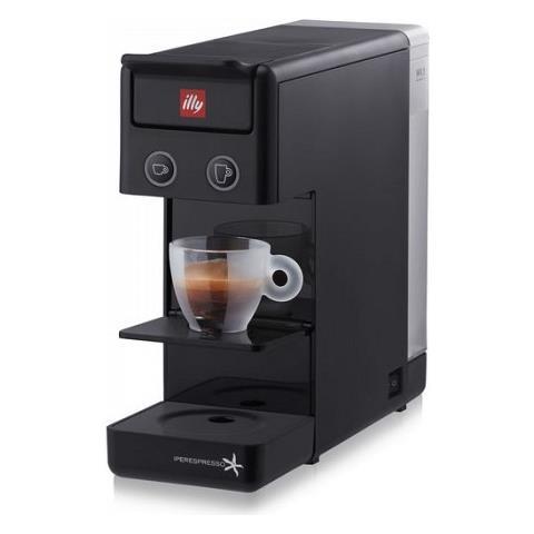 Macchinetta Del Caffe Illy Y3 Y3.1 Nuova Nero 60284