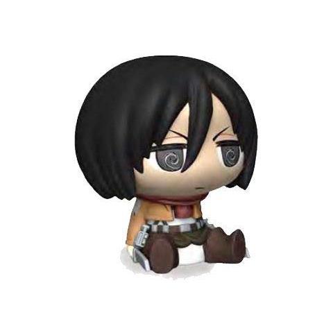 Lobcede.be Plastoy 80075 - Attacco Dei Giganti - Mini Salvadanaio Chibi Mikasa