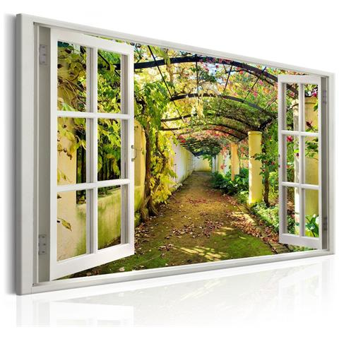 Image of A1 N6965 Dxl Quadro Window View On Pergola
