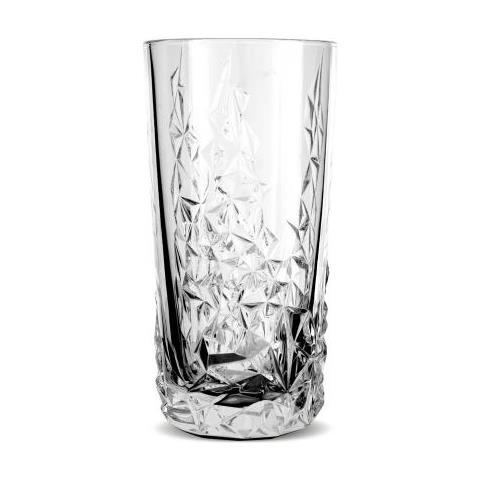 Bicchiere Longdrink Diamond 420 Ml Confezione 12 Pz Attrezzatura Barman Bartender Rs9258
