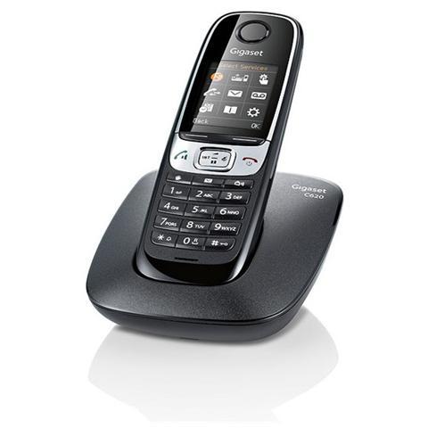 GIGASET Telefono C620 Cordless Gap Black