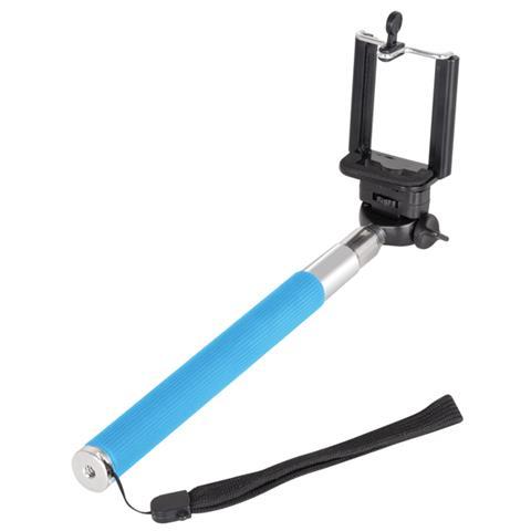 TREVI Asta Selfie ST 80 per Smartphone e Action Cam fino a 105cm - Blu