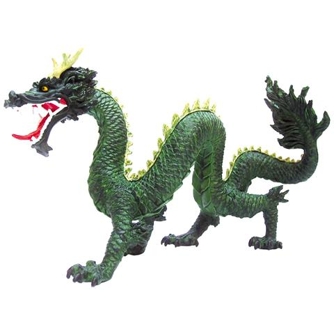 Plastoy 60439 - Draghi - Drago Chinese Verde