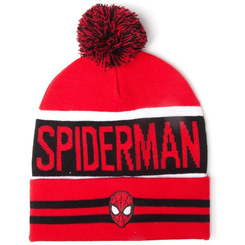 BIOWORLD Spider-Man - Big Spidey Logo Red (Berretto)