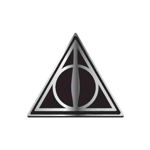 HALF MOON BAY Harry Potter: Deathly Hallows (badge Smaltato)
