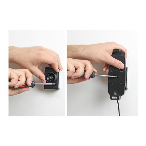 BRODIT 512724 Auto Active holder Grigio supporto per personal communication