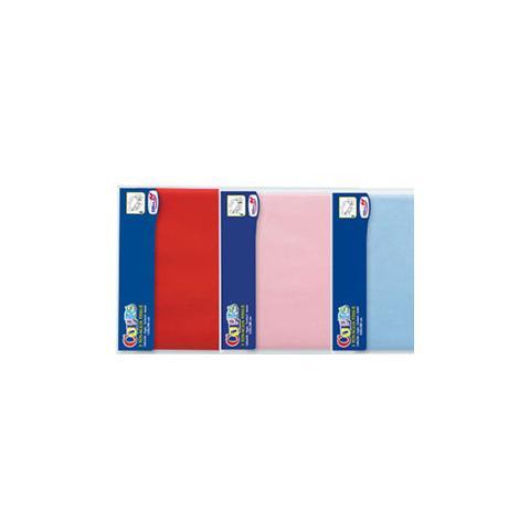 DOPLA Tovaglia in Carta 120 x 180 cm Ripiegata Azzurro