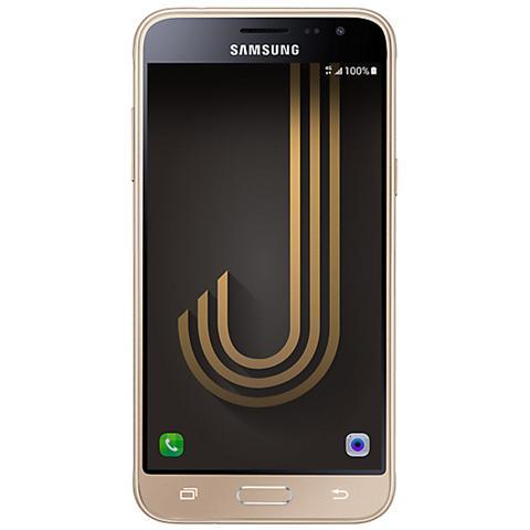 "SAMSUNG Galaxy J3 (2016) Oro 8 GB 4G / LTE Dual Sim Display 5"" HD Slot Micro SD Fotocamera 5 Mpx Android Europa"