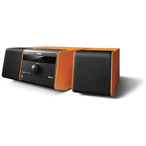 Image of Audio Portatile Hi-Fi MCR-B020 con 2 speaker 30W colore Arancione