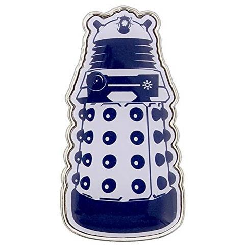 HALF MOON BAY Doctor Who Pin Del Distintivo Di Smalto Dr Who Dalek 3,2 Centimetri