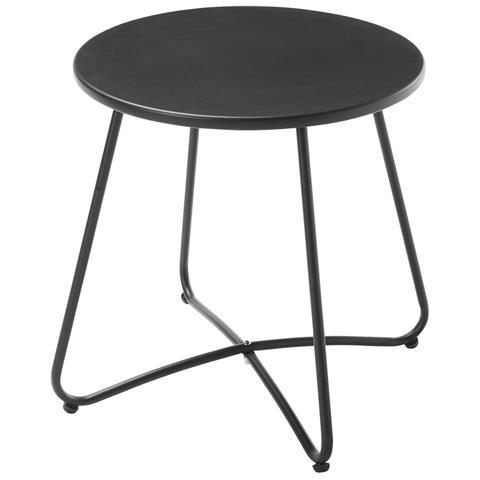CARREFOUR Tavolino Acapulco da Esterno Colore Nero