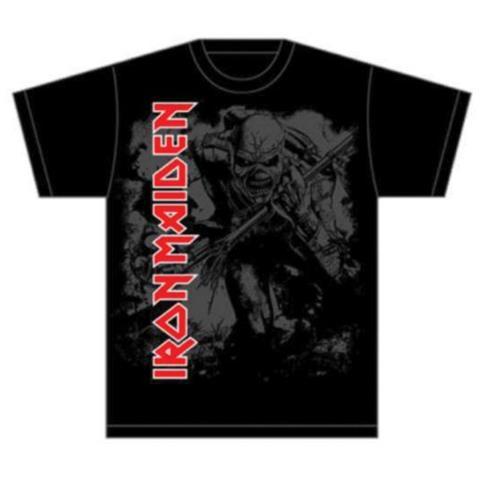 ROCK OFF Iron Maiden - Hi Contrast Trooper (T-Shirt Unisex Tg. 2XL)