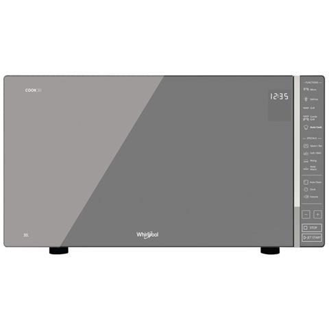 MWP304M Forno Microonde Cook 30 con Grill Capacità 30 Litri Potenza 900Watt Colore Argento