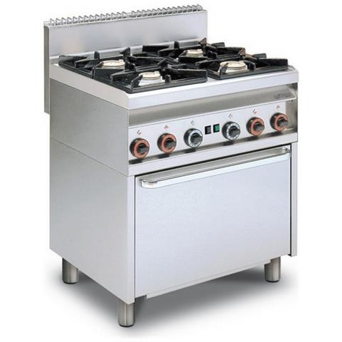 Cucina A Gas Professionale Afp / Cf4-8g