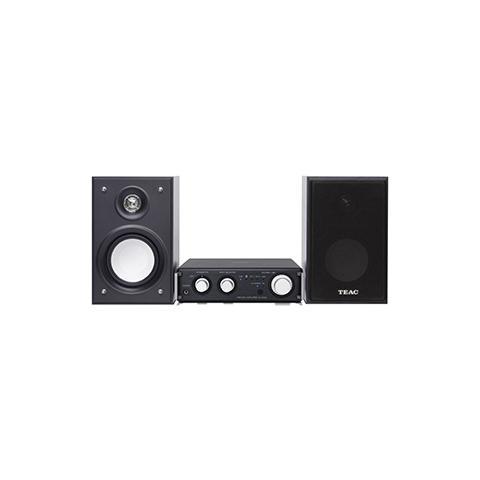 TEAC HR-S101, Micro set, Nero, 2-vie, 52W, 7 cm, 3,5 mm