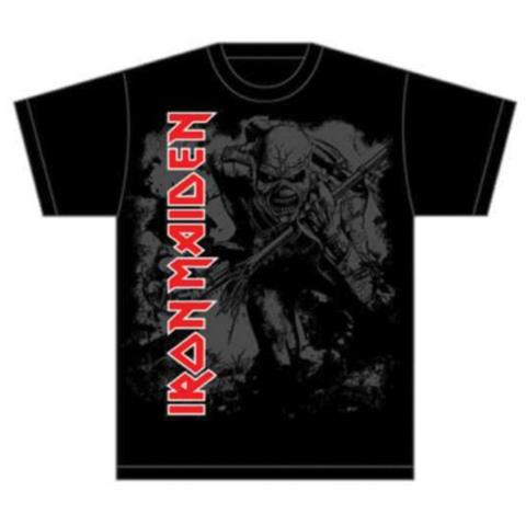 ROCK OFF Iron Maiden - Hi Contrast Trooper (T-Shirt Unisex Tg. S)