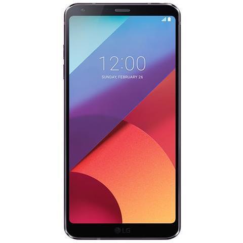 """LG G6 Nero 32 GB 4G / LTE Impermeabile Display 5.7"""" Quad HD Slot Micro SD Fotocamera 13 Mpx Android Vodafone Italia"""