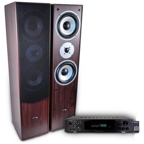 Image of Confezione Hifi / Home Cinema L766-wh 2 X 50w Amplificatore Atm6000bt